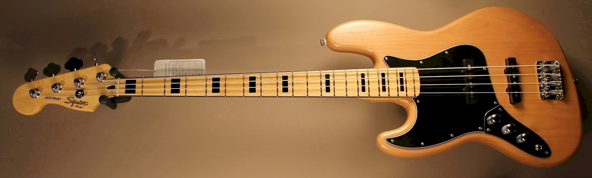 Squier Vintage Modified 70s Jazz Bass Lh Natural Leftyguitars