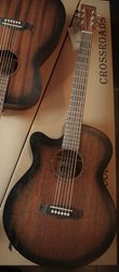 Tanglewood Crossroads TW CRSFCE-LH Whiskey Barrel Burst
