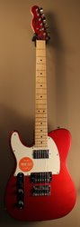 Squier Contemporary Telecaster HH LH Dark Metallic Red ***SOLD***