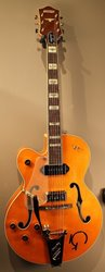 Gretsch G6120LH Eddie Cochran Hollow Body - Western Maple Stain