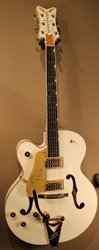 Gretsch G6136TLH Players Edition White Falcon